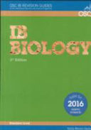 International Baccalaureate Standard Level Biology