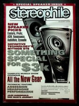 Stereophile Issue August 2008 Vol.31 no 8