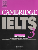 Cambridge IELTS 3 Student's Book with Answers