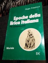 Epoche della lirica italiana