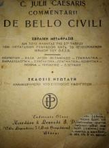 C. Julil Caesaris Commentari I de Bello civili