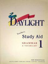 Daylight study aid 1 teacher's