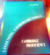 Cambridge Proficiency Listening Comprehension (Teacher's book)
