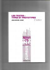 Les textes: types et prototypes