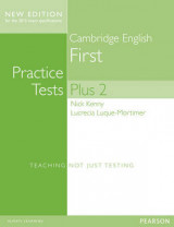 Cambridge First Volume 2 Practice Tests Plus New Edition Students' Book without Key
