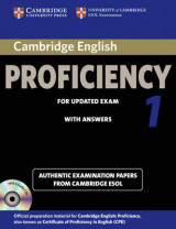 CPE Practice Tests Cambridge English Proficiency 1 for Updated Exam Self-study Pack (Student's Book with Answers and Audio CDs (2)): Authentic Examination Papers from Cambridge ESOL