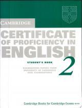 Cambridge Certificate of Proficiency in English 2 Student's Book