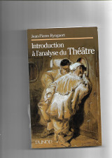 Introduction à l'analyse du théâtre.