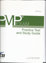 Pmp Exam Practice Test and Study Guide