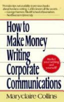 How to Make Money Writing Corporate Communications