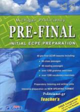 Pre-Final Initial Ecpe Preparation