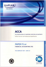 Acca f3 Financial Accounting FA Paper F3