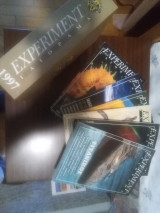 Experiment - Γαιόραμα 6 τεύχη του 1997 μαζί με την επίσημη θήκη