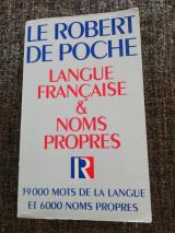 Robert de Poche French Language Proper Nouns (Robert de Poche Langue Francaise des Noms Propres)