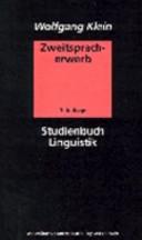 Zweitspracherwerb : eine Einführung
